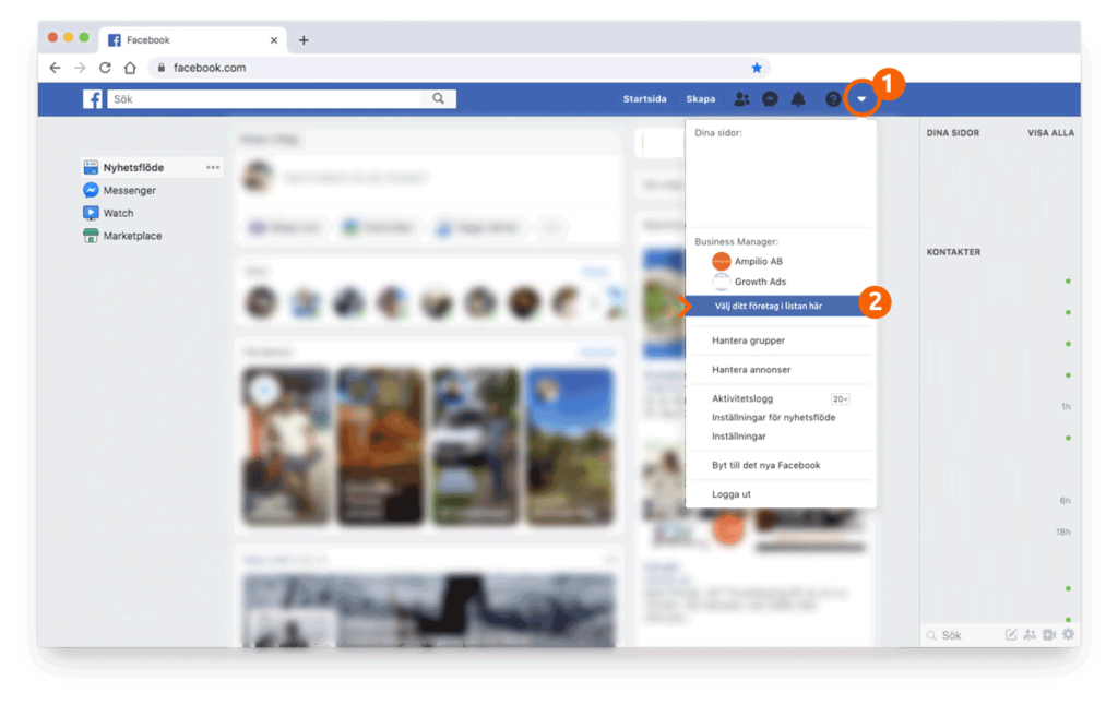 FB business manager 1 1